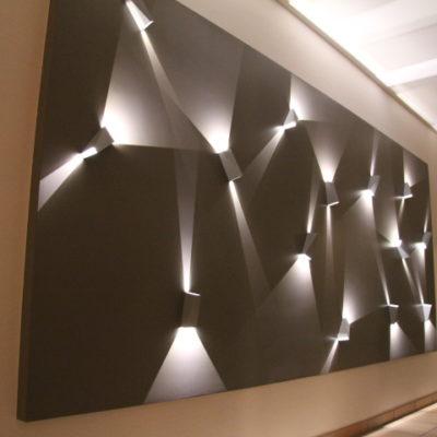 Lichtinstallation Umsetzung