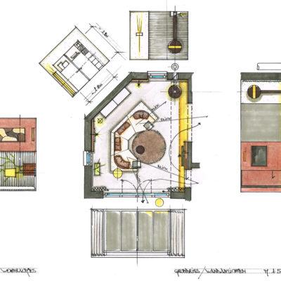 Individueller Wohnraum Planung